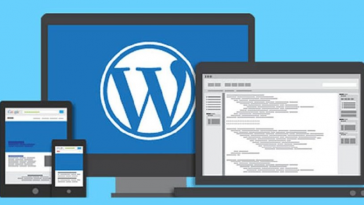 membuat website com dengan cms wordpress